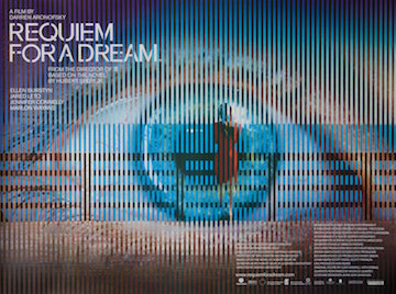 Requiem For a Dream movie quad poster