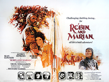 Robin and Marion movie quad poster
