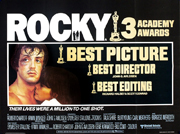 Rocky movie quad poster