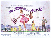 The Sound Of Music movie quad poster