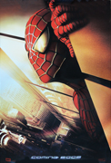 Spiderman early advance style A rare 'twin towers' one-sheet movie poster