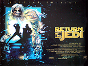 RETURN OF THE JEDI special edition movie quad poster