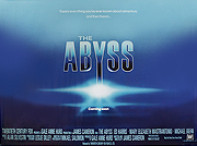 The Abyss advance film quad poster