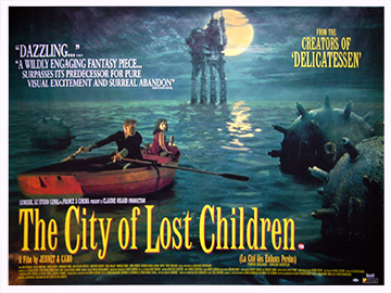 The City Of Lost Children movie quad poster
