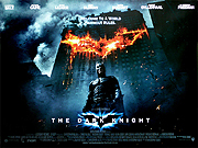 The Dark Knight movie quad poster