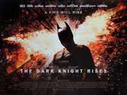 Batman - Dark Knight Rises advance movie quad poster