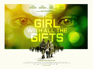 The Girl With All The Gifts movie quad poster