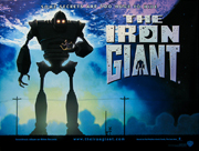 The Iron Giant movie quad poster