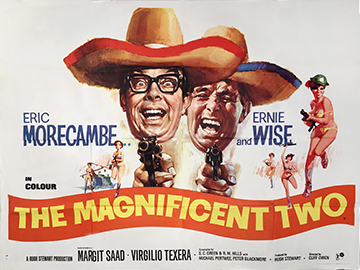 The Magnificent Two quad poster