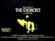 The Exorcist quad Poster